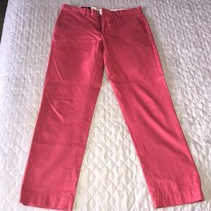 Men's Salmon Polo Ralph Lauren pants slim 30W 30L
